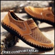 Férfi alkalmi bőrcipő eladó
