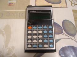 BROTHER 508AD régi Japán számológép zöld fényű kijelzővel - FoxPost 800!