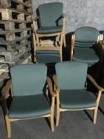 Szövet konferencia szék, használt irodabútor