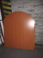 Boltív formájú tárgyalóasztal, használt irodabútor