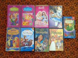 9db VHS Disney mese kazetta